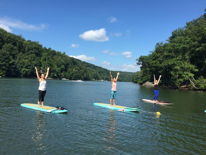 Morgantown SUP Yoga