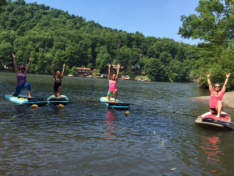 Cheat Lake SUP Yoga