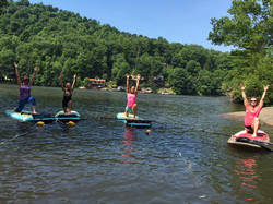 Cheat Lake SUP Yoga