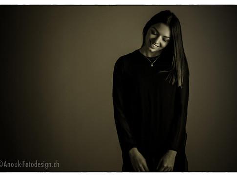 Fotografin Portrait Fotostudio Sursee