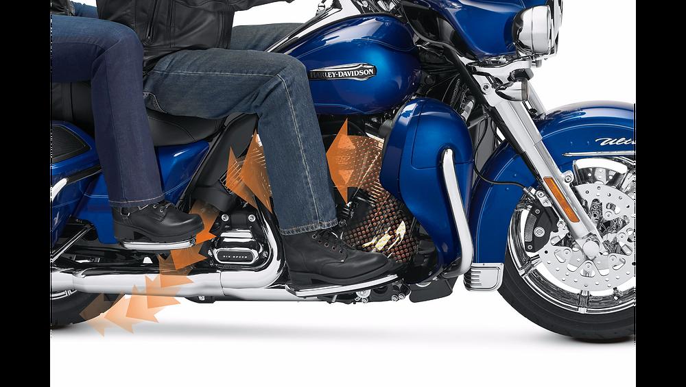 Установка принудительного комплекта охлаждения на Harley-Davidson Touring