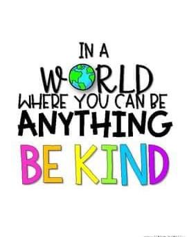 Be Kind - Anti-Bullying Week