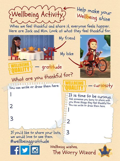 Free Wellbeing Activity - Gratitude