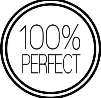 I'm Not Sure 100% Perfect is Possible or Even Desirable...