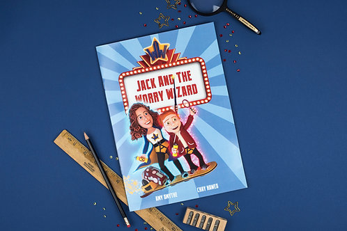 Jack & The Worry Wizard Book