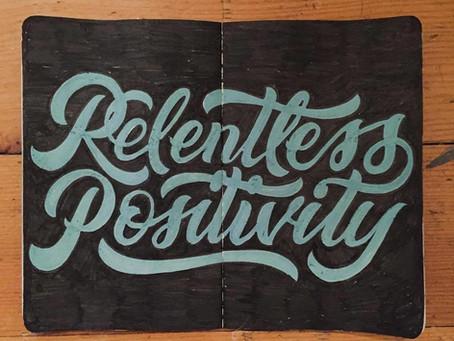 Relentless Positivity - Does It Help?