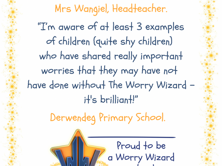 """The Worry Wizard  - """"it's brilliant!"""""""