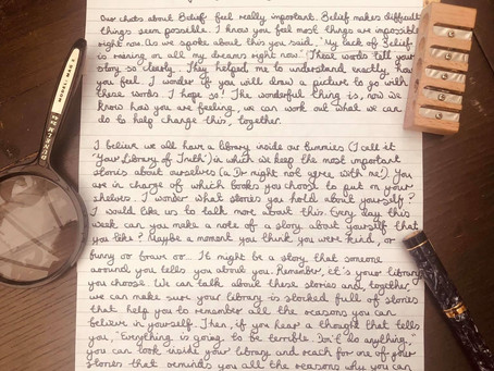Letter From The Worry Wizard - Dear Sonny...