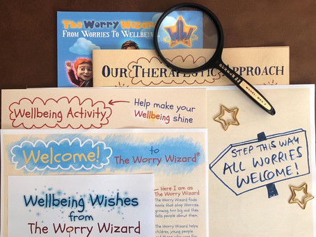 The Worry Wizard + Bigfoot Arts Education - getting ready to adventure together.