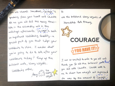 🌟 Wellbeing Quality Celebration 🌟 COURAGE...