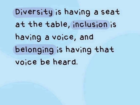 The Worry Wizard Loves ♥️...Diversity, Inclusion & Belonging.