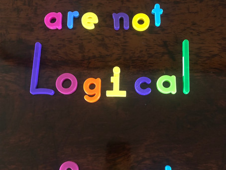 Feelings are not logical...who knew?