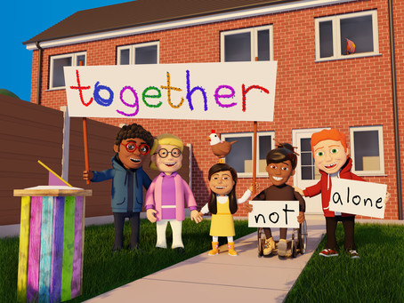 Together not alone - our brand-new animation project.
