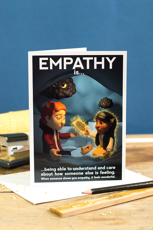 "Personalised ""Empathy"" Wellbeing Greeting Card"