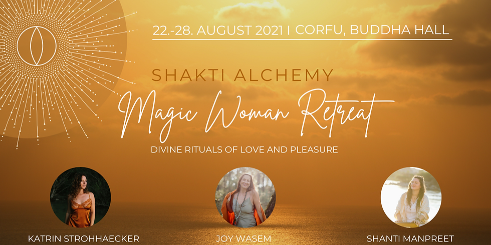 MAGIC WOMAN RETREAT auf Korfu