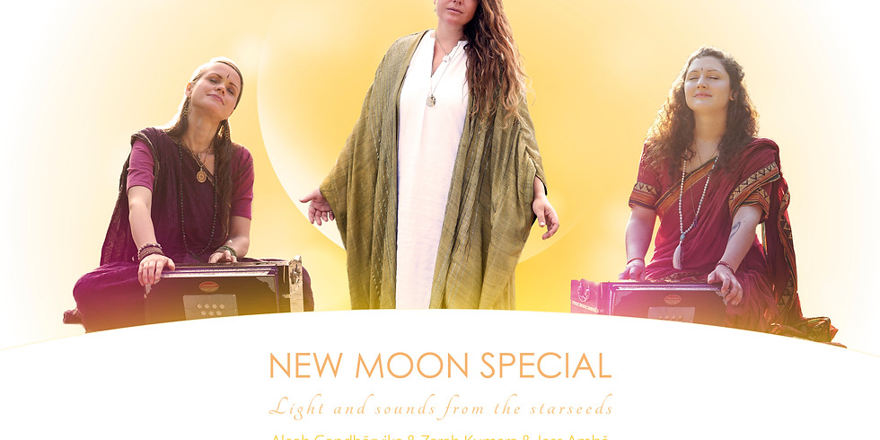 NEW MOON SPECIAL – Light and sounds from the starseeds
