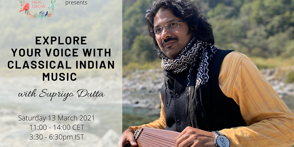 Explore your voice with Classical Indian Music