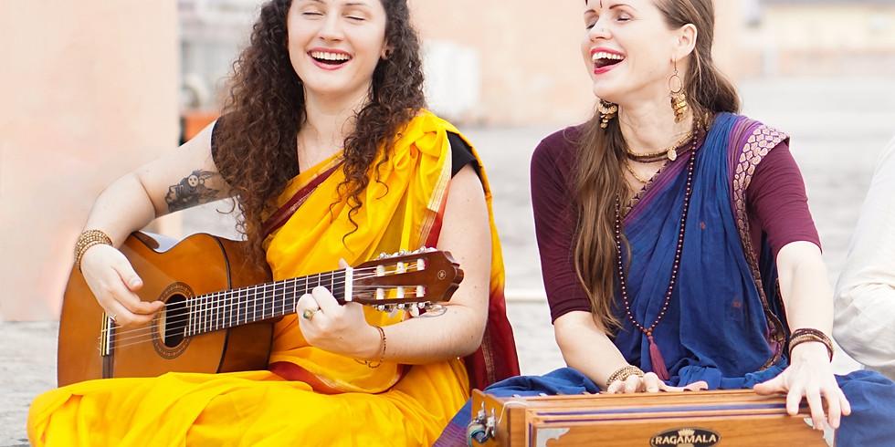 Bhakti Yoga Immersion mit Aleah Gandharvika und Jess Amba Jaya