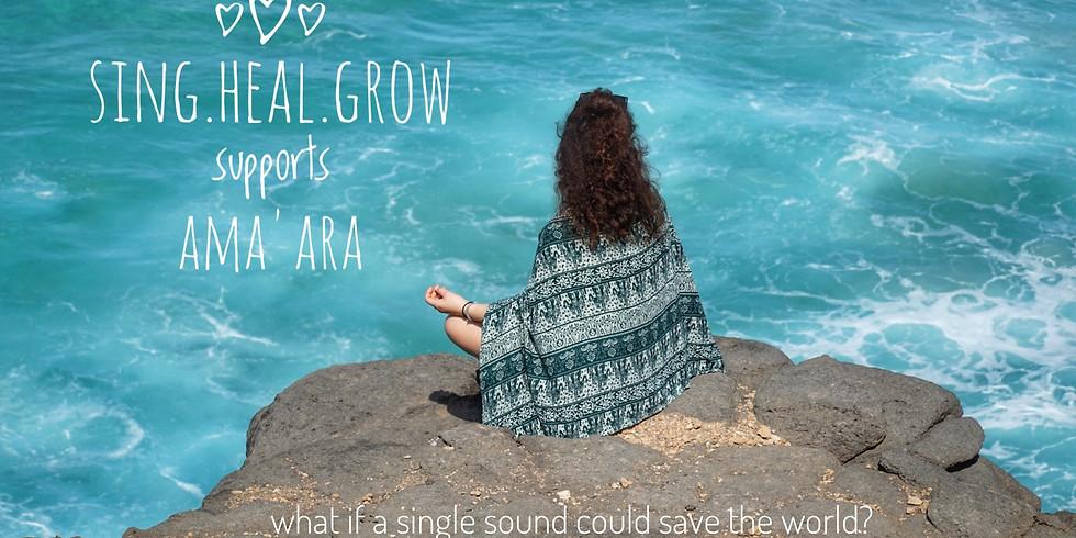 Benefiz SING.HEAL.GROW für AMA'ARA