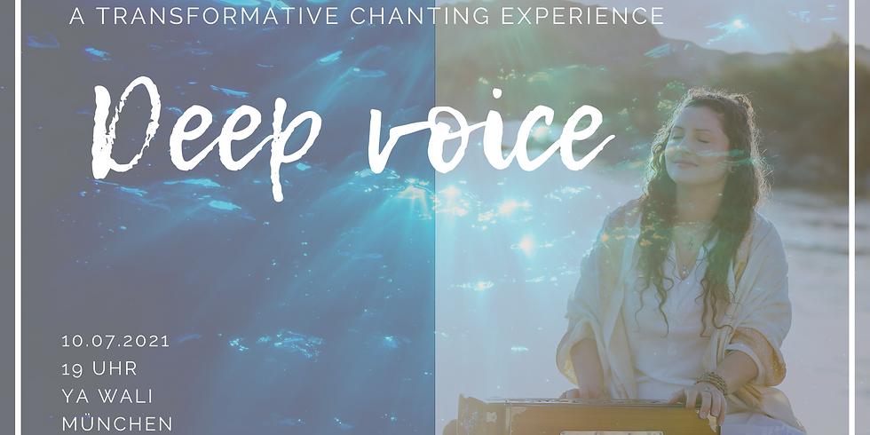 Transformative Chanting Experience mit Shanti Manpreet