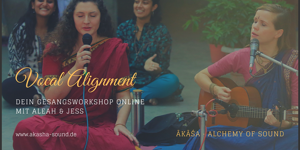 """Online Workshop """"Vocal Alignment"""" - Mit der Stimme in Resonanz gehen"""