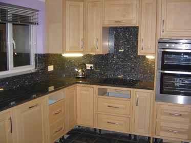 مطبخ جرانيت بلو بيل - جرانيت ازرق