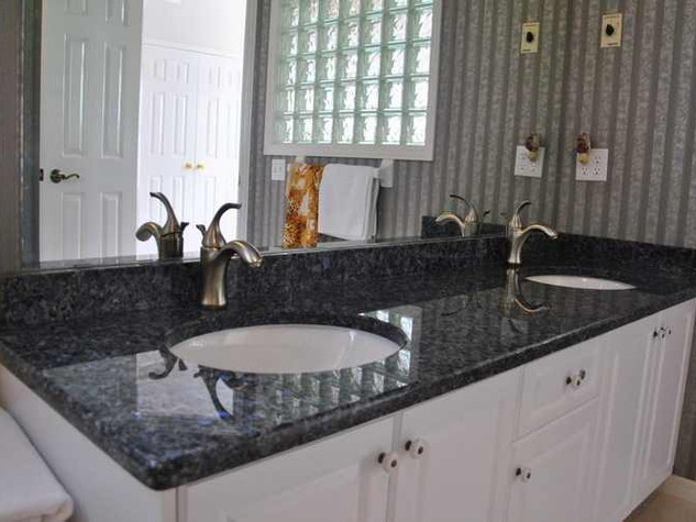 Blue Pearl- Granite Basins - Blue Pearl Granite