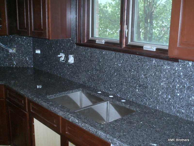 Blue Pearl -Granite kitchens
