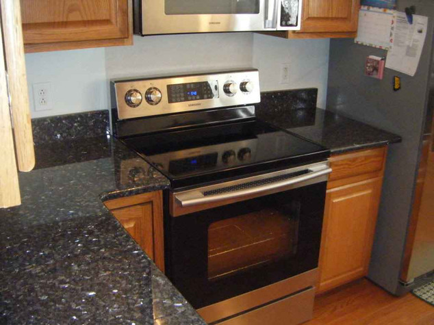 Blue Pearl -Granite kitchens -Blue Pearl