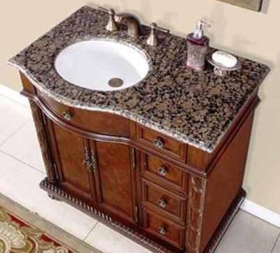 احواض جرانيت بني بالتيك براون