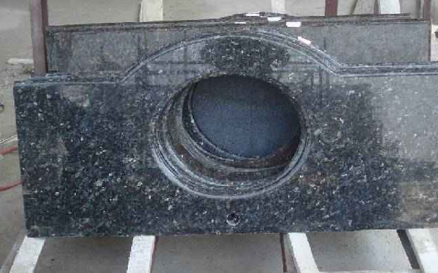 Blue Pearl -Imported granite - granite basins