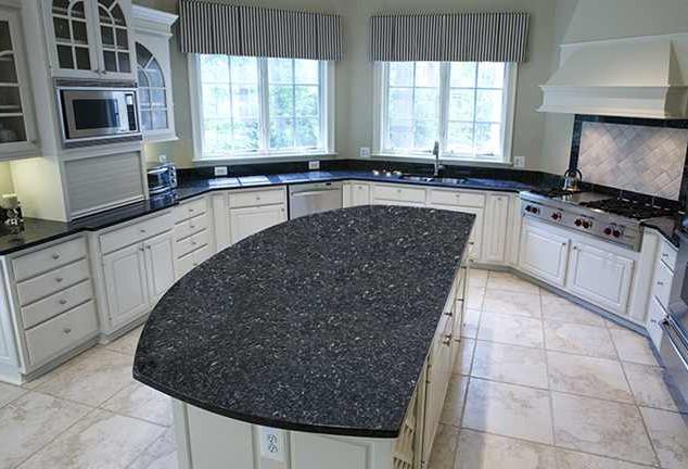 Imported granite -