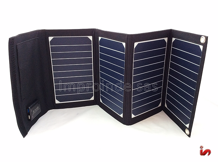 Panel Solar Plegable 20W