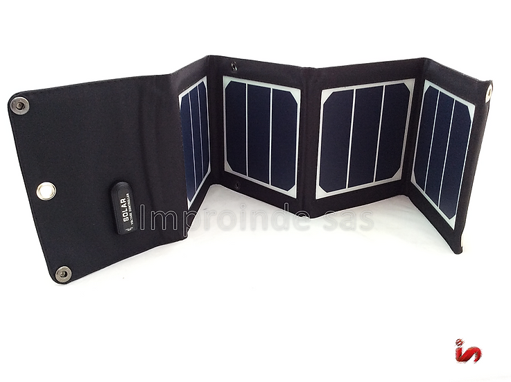 Panel Solar Plegable 13W 4 Celdas