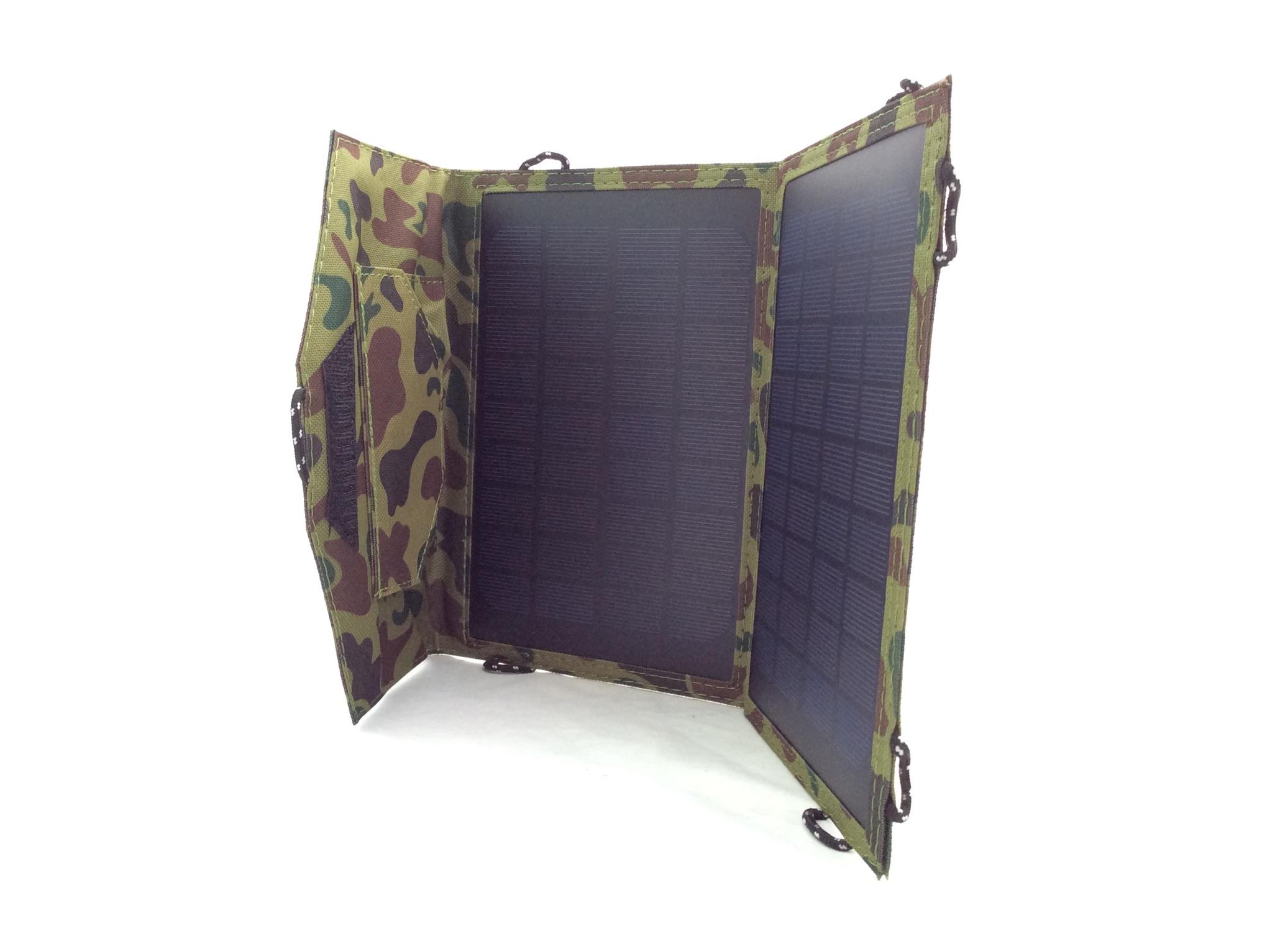 Panel Solar 7W PLEGABLE Portatil