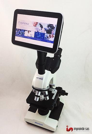 Microscopio Binocular Zefir CPad
