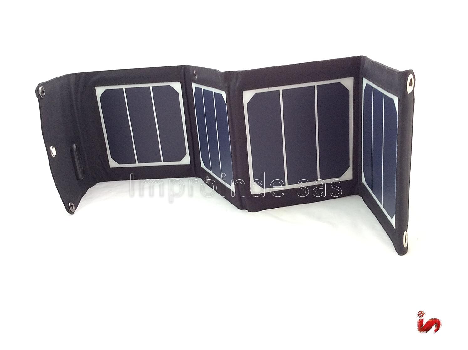 Panel Solar 13W PLEGABLE Portatil