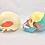Thumbnail: Cráneo Humano Coloreado (2 Versiones)