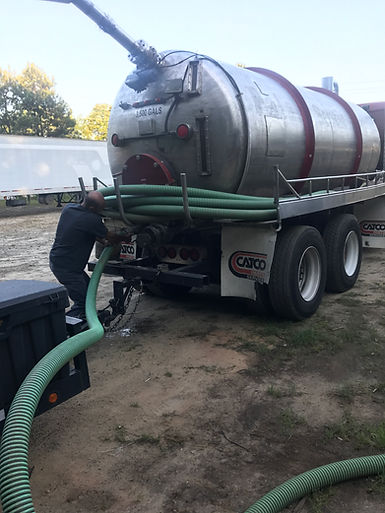 2 Brothers Septic pumping a septic tank in Bethlehem, GA