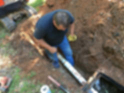 2 Brothers Septic installs a septic tank
