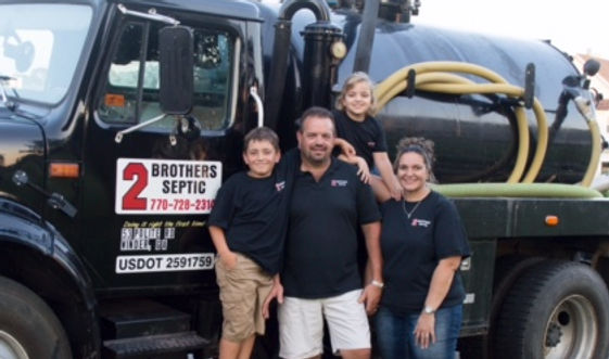 Family run septic company based in Northeast Georgia