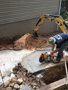 Septic tank install in Athens, GA