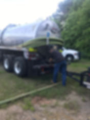 2 Brothers Septic pumping tank near Auburn, GA
