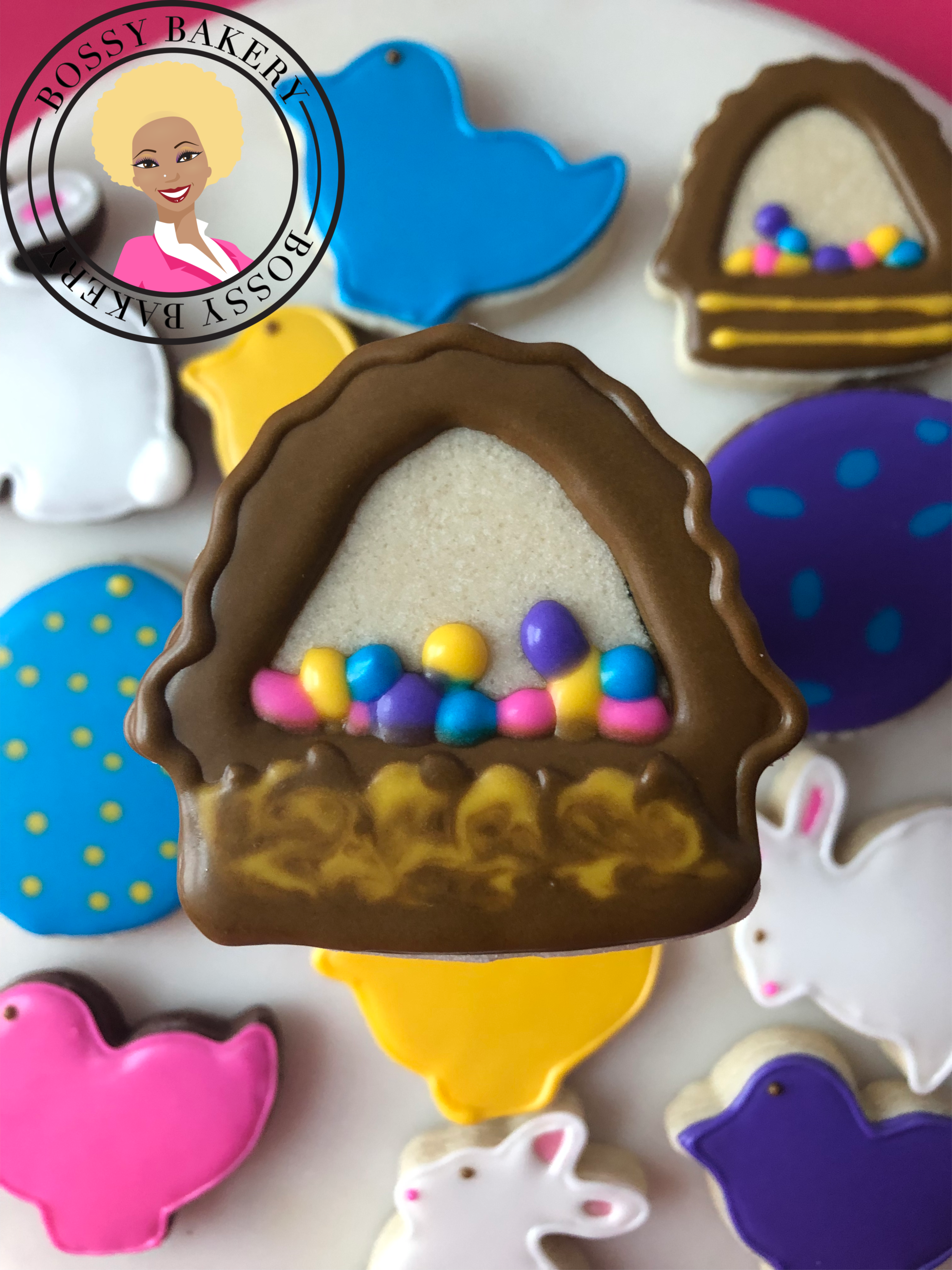 Easter Basket Cookie 2019