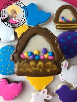 Easter Basket Cookie 2019
