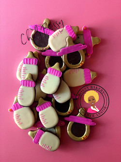 Its A Girl Baby Shower Minis