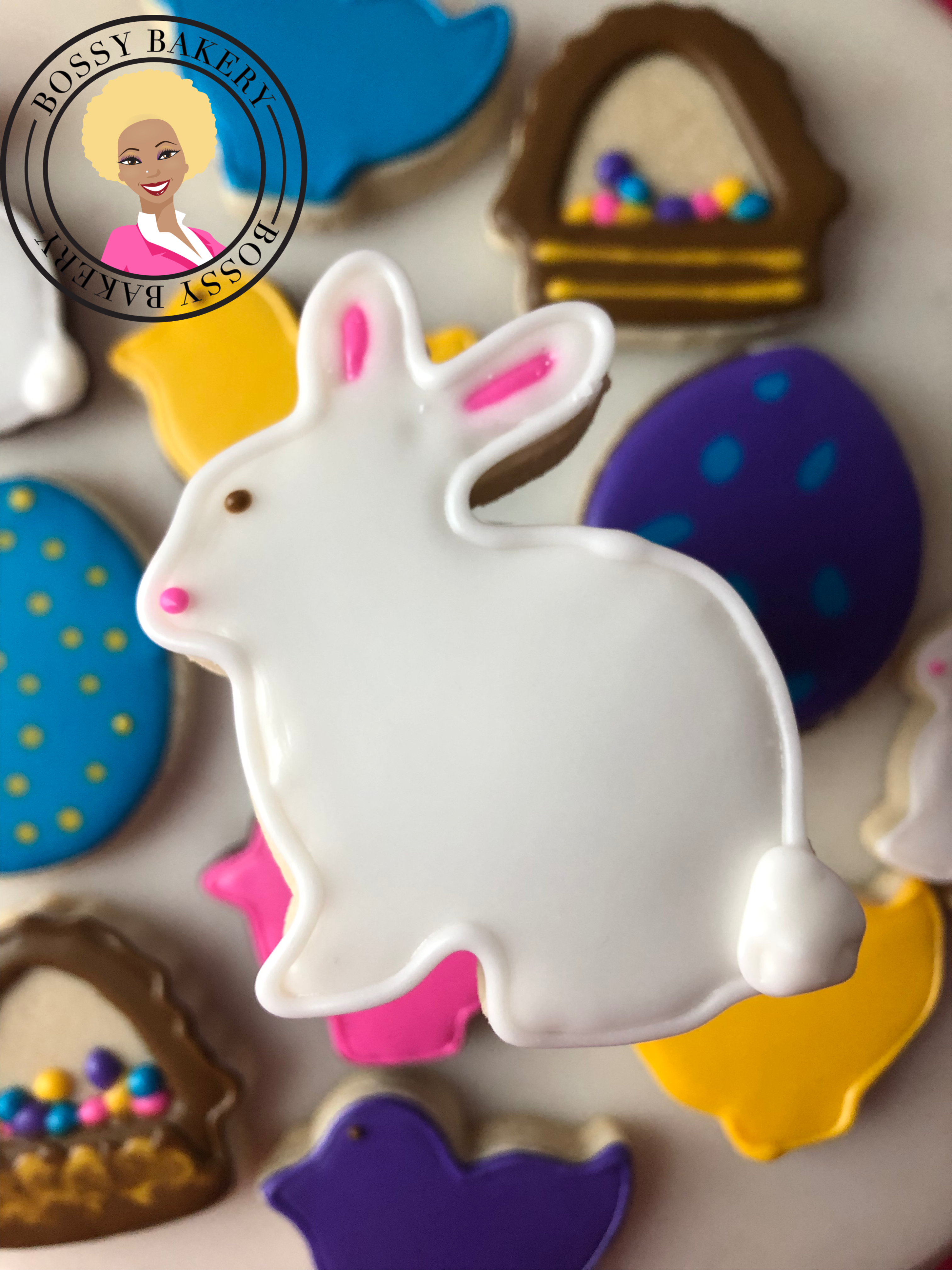 Easter Bunny Cookie 2019