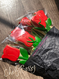Cookie Bouquet_ Red Roses