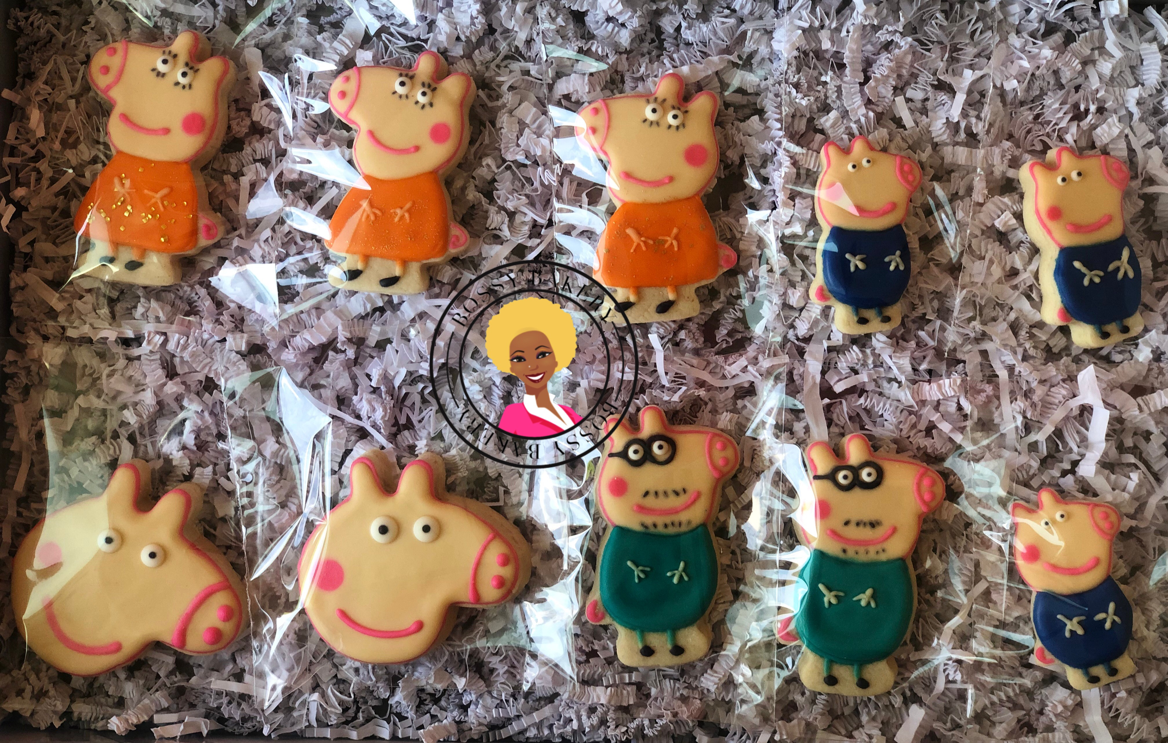 Peppa Pigs Family