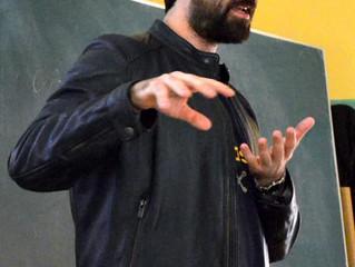 CARLOS PRIETO visita el colegio
